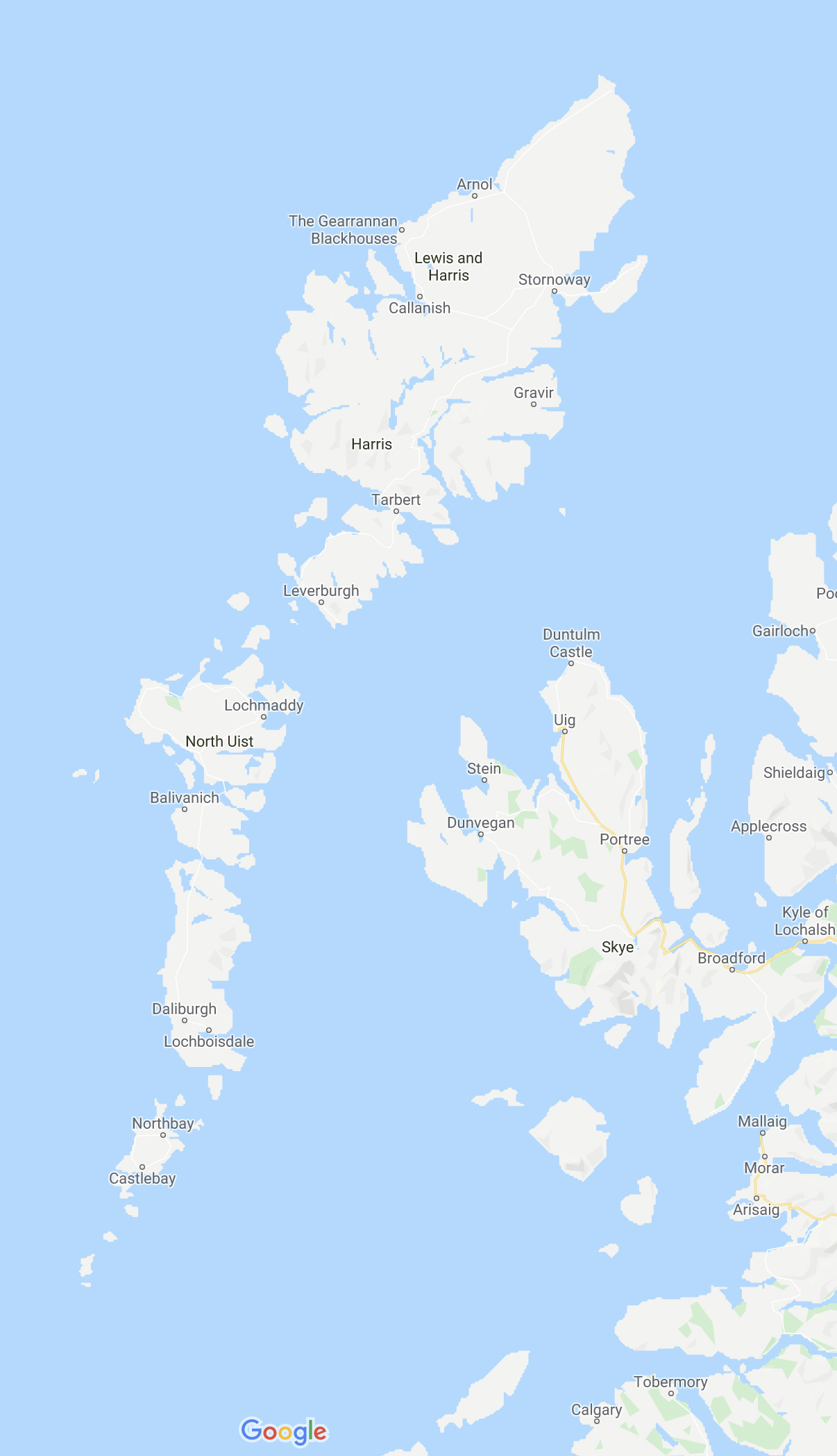 Äußere Hebriden und Skye