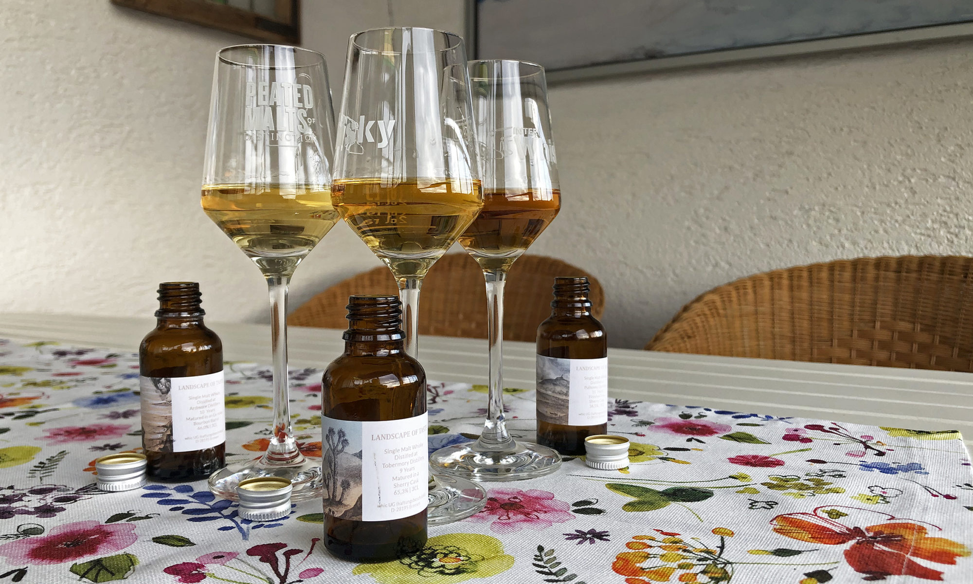 Whiskytasting ganz anders