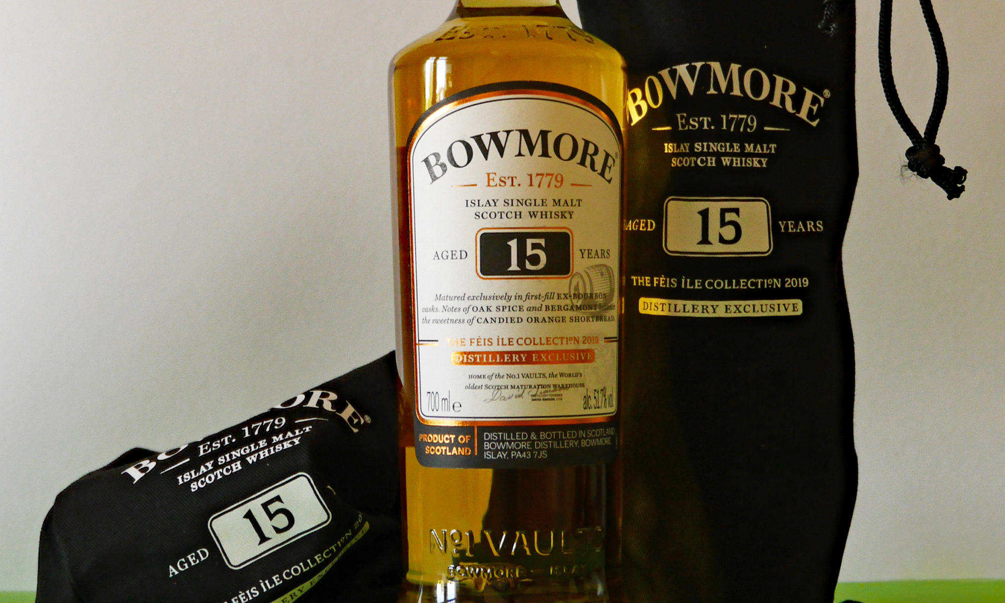 Bowmore 15 Years Feis Ile 2019